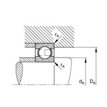 FAG Deep groove ball bearings - S605