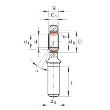 FAG Rod ends - GAL12-UK
