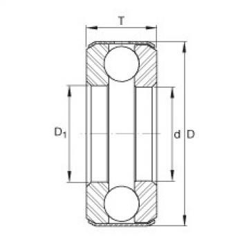 FAG Axial deep groove ball bearings - D33