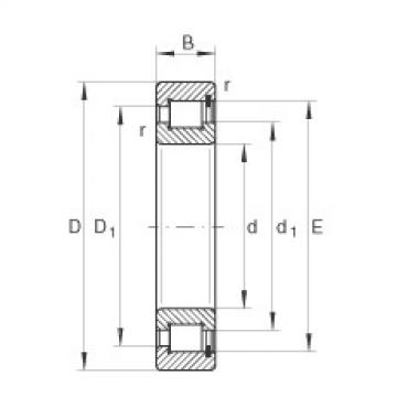 FAG Cylindrical roller bearings - SL1818/630-E-TB