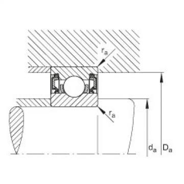 FAG Deep groove ball bearings - 61913-2RZ