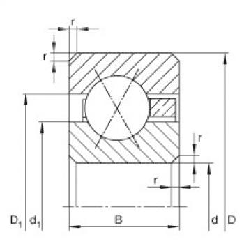 FAG Thin section bearings - CSXB025