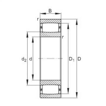 FAG Toroidal roller bearings - C3976-XL-M