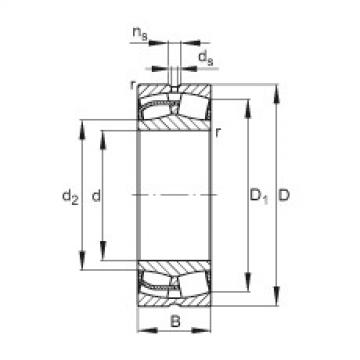FAG Spherical roller bearings - 24172-BE-XL