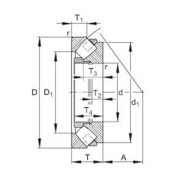 FAG Axial spherical roller bearings - 292/630-E1-MB