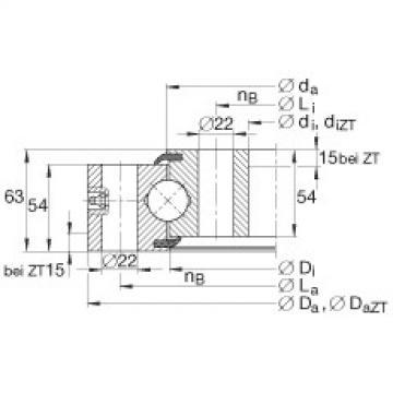 FAG Four point contact bearings - VSU250855