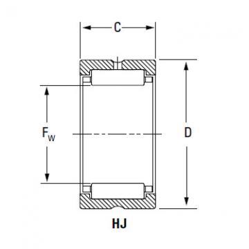 Bearing IR-9611648 HJ-11614648