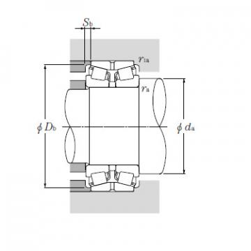 Bearing EE192150/192201D+A