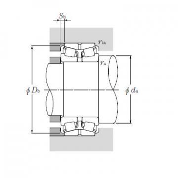 Bearing T-EE134102/134144D+A