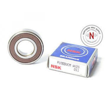 "NSK R10DDUCM SINGLE ROW, DOUBLE SEAL BALL BEARING, .625"" x 1.375"" x .3425"""