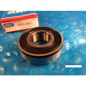 SKF 6203 2RS1, Single Row Radial Ball Bearing (FAG, NTN VV, NSK, Fafnir 203)