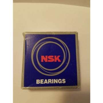 NSK 6810 Deep Groove Ball Bearing, Single Row, Open, Pressed Steel Cage