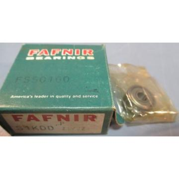 Fafnir Bearings S1KDD Z1/2Z Single Row Ball Bearing FS50160