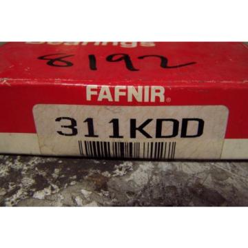 NEW FAFNIR 311KDD SINGLE ROW BALL BEARING