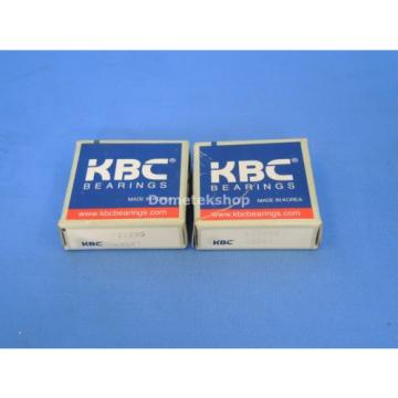 KBC 6202DD single row ball bearing (2 pcs)