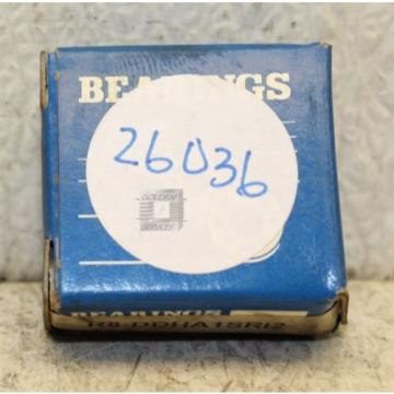 Gulf R8-DDHA1SR12 Single Row Ball Bearing