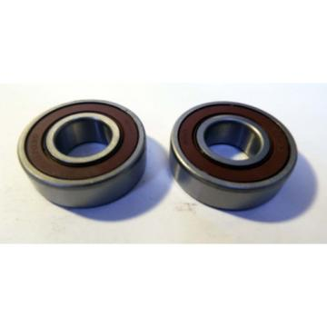 2 NEW WBD 62030 SINGLE ROW BALL BEARINGS