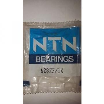 NTN SINGLE ROW RADIAL BALL BEARING 628ZZ/ 1K
