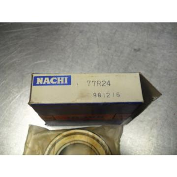 77R24 NACHI New Single Row Ball Bearing   Free ship NEW