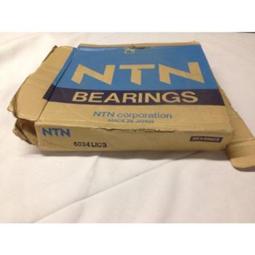 6034L1C3 NTN New Single Row Ball Bearing