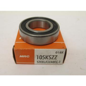 MRC 105KSZZ Single Row Ball Bearing