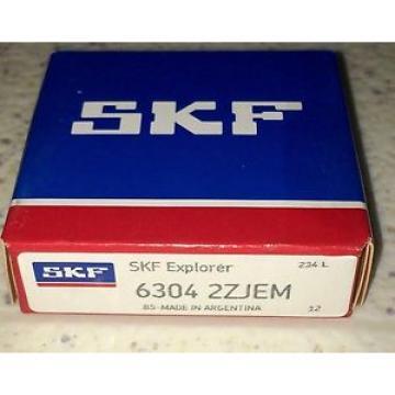 SKF 6304-2ZJEM Single Row Ball Bearing