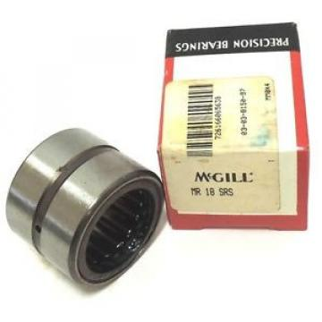 MCGILL MR18SRS BEARING CAGED ROLLER 1-1/8 X 1-5/8 X 1-1/4INCH, MR-18-SRS