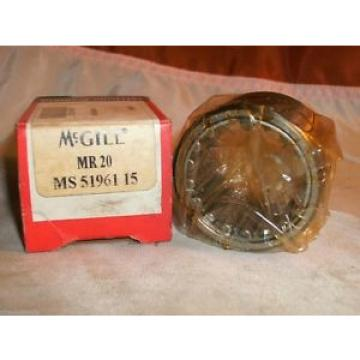 MCGILL MR 20 CAGED ROLLER BEARING MR20