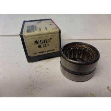 McGill Needle Bearing MR 16 S MR16S New