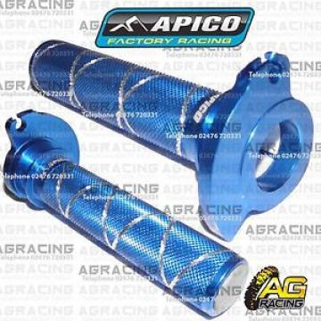 Apico Blue Alloy Throttle Tube Sleeve With Bearing For Husqvarna CR 250 2014
