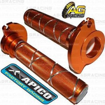 Apico Orange Alloy Throttle Tube With Bearing For KTM EXC 250 2008 MotoX Enduro