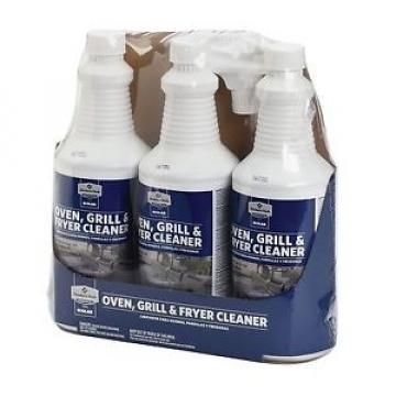 ECOLAB Member's Mark Commercial Oven Grill Fryer Grease Cleaner 3 X 32 Oz. SPRAY