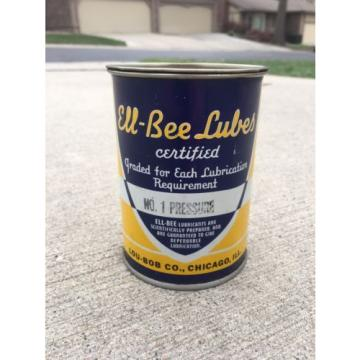 ELL BEE LUBES Lubricant Pressure Can Lou Bob Grease