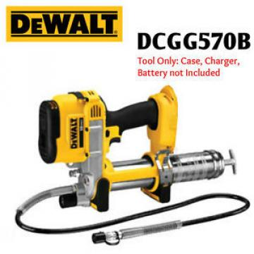 DeWALT DCGG570K B 18 VOLT Cordless Grease Gun w/LED light - WARRANTY INCLUDED