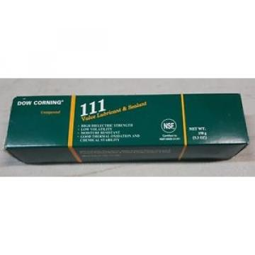 DOW CORNING 111 5.3 OZ; Specialty Lubricant/Sealant Grease 5.3 Oz Tube Product