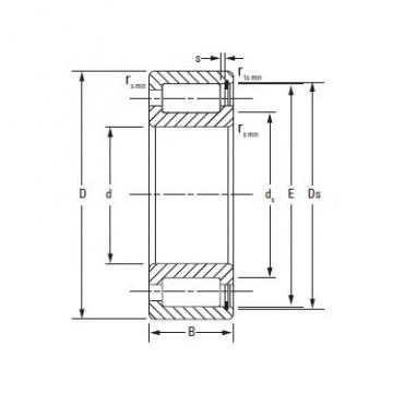 Timken Full complementNCF18/800V